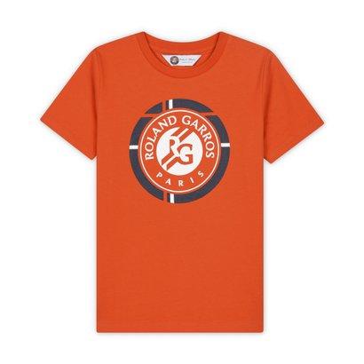 T-shirt Roland Garros Collection Officielle Taille Enfant Gar/çon Affiche 2020